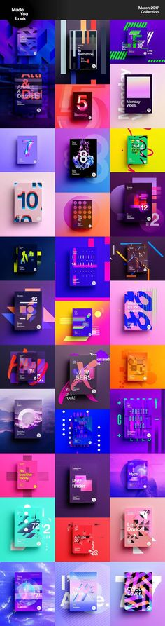 er Collection 2017 : Made You Look self promotional project aswell as a personal challenge where I aim to design a poster a day throughout subject is totally random and the only rule is that it can't take longer than 1 Graphisches Design, Media Design, Game Design, Cover Design, Layout Design, Creative Design, Swiss Design, Creative Art, Design Ideas