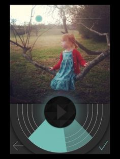 Turning your photos into talking photos with the Shuttersong app.