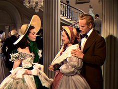 Walter Plunkett - Costumes - Chapeau de Paille avec Noeud vieux rose - Olivia de Havilland - Autant en emporte le Vent - 1939