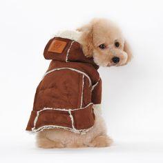 Dog Pet Shop, Pet Dogs, Pet Puppy, Dog Vest, Dog Jacket, Dog Shirt, Warm Outfits, Winter Outfits, Winter Clothes