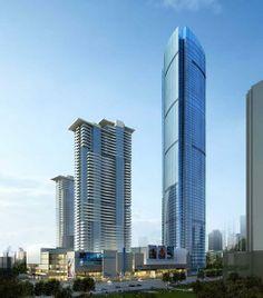 HUAI'AN | Yurun International Tower | 317m | 1040ft | 75 fl | U/C - SkyscraperCity