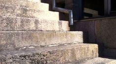 Sol reptando por las escalera de A Casa de Aldán #timelapse #casarural