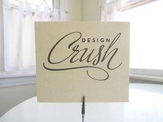DesignCrushB by & kathleen, via Flickr