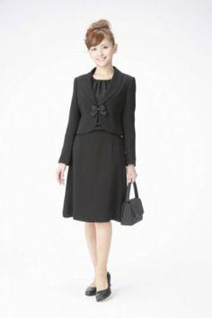 Amazon.co.jp: (マーガレット)marguerite m436 ブラックフォーマル レディース アンサンブル 礼服: 服&ファッション小物