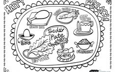 craft ideas passover coloring pages activity sheets neighborhood easter egg hunts pinterest activities craft and holidays