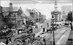 High Street, Newcastle-under-Lyme, 1895