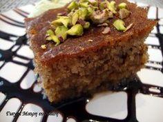 Greek Sweets, Greek Desserts, Greek Recipes, Sweets Recipes, Cake Recipes, Cooking Recipes, Greek Cookies, Cake Cookies, Greek Cake