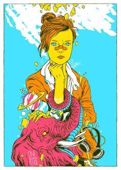 The explosive illustrations by Brazilian collective Bicicleta Sem Freio