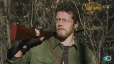 Bam from season one, his thousand mile stare... Alaskan Bush People