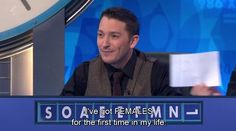 Oft, Jon Richardson... My friday night treat ;) So glad 8 Out of 10 Cats Does Countdown is back <3