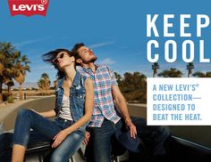 Photographer: Anna Wolf Client: Levi's Campaign: 2014 Cool Max Collection Tv Online Streaming, 1 Live, Ads Creative, Beat The Heat, Lifestyle Group, Live In The Now, Vintage Levis, Photo Art, Campaign