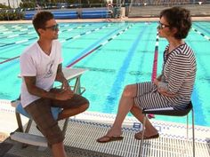 PHOTO: Olympic swimmer Anthony Ervin sat down with ABCs Elizabeth Vargas for 20/20.