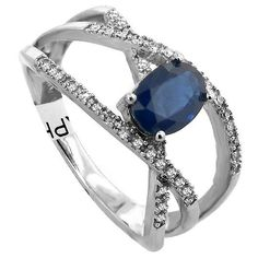 Beautiful oval sapphire ring!