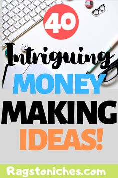 Looking to make money online? Try out these 40 different ways to start. If you want to make extra cash, start an online business, start a side hustle, or find legit work from home, there are ideas here! Make Money Fast Online, Online Cash, How To Make Money, Make Money Blogging, Cash From Home, Make Money From Home, Legit Work From Home, Making Extra Cash, Extra Money