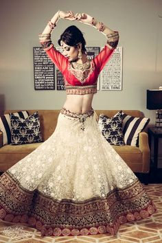 Love the gher (flare) of the lehenga