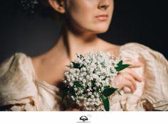 Bride, flower, tender, milk, fantasy, light, air, boquet