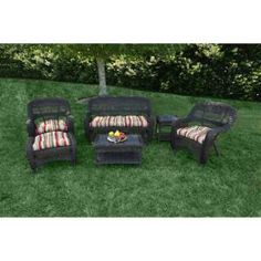 Check out the Tortuga Outdoor PS6S Portside 6 Peice Seating Set priced at $849.00 at Homeclick.com.