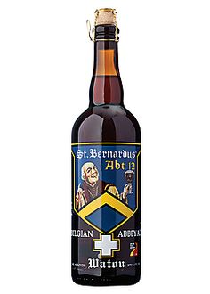 St Bernardus Abt 12  A traditional Abbey Ale brewed in the classic style of Belgium's Trappist Monks. It is almost ebony in color, smooth, creamy and full-bodied, with big richness of texture that is almost oily and very assertive, like a warming coconut brandy.