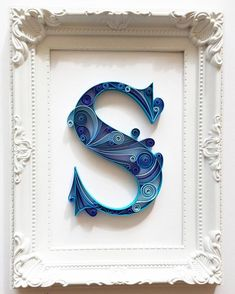 13 Paper Quilling Design Ideas That Will Stun Your Friends – Quilling Techniques Quilling Letters, Paper Quilling Flowers, Paper Quilling Patterns, Quilling Paper Craft, Paper Crafts, 3d Paper Art, Quilled Paper Art, Etsy, Paper Strips