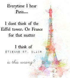 Anna y el beso francés.  Una lectura obligada.// hahahahadfafjhskf etienne!  *cries in spanish*