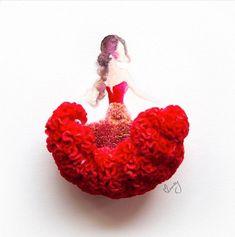 Toda a delicadeza das flores é transferida para o papel e facilmente se torna obra de arte através das mãos da artista malásiaLim Zhi Wei, que atualmente vive em Singapura. Munida de ramos e aquarela, ela forma composições incrivelmente belas com técnicas simples.Conhecida comolovelimzy, a artista dá graça às formas femininas com as mais diversas pétalas de flores, como cravos, rosas, orquídeas, hortênsias e crisântemos, compondo vestidos que todas as mulheres gostariam de ver de perto ou…