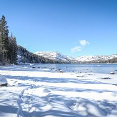 Northern California Winter Road Trip. Winter snowshoeing options.