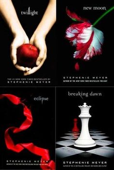 Twilight Series. NEVER thought I'd like it but started the first book just to see what all the rage was about. Ended up reading all four, back to back. Saw the movies and they were horrible....but LOVED the books!