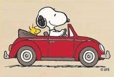 Snoopy + Woodstock