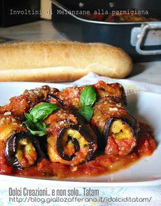 Involtini di Melanzane alla parmigiana | ricetta vegetariana
