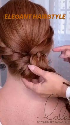 Hair Tutorials For Medium Hair, Medium Hair Updo, Up Dos For Medium Hair, Hairdo For Long Hair, Party Hairstyles For Long Hair, Wedding Hairstyles, Hair Up Styles, Medium Hair Styles, Natural Hair Styles