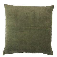Putetrekk Velvet Oliven Throw Pillows, Home, Olives, Cushions, House, Ad Home, Decorative Pillows, Decor Pillows, Homes