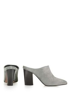 GLOBAL Point Mules - Topshop