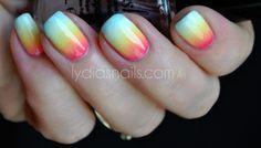 Lydias Nails:beautiful gradient!!