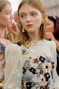 Rodarte spring summer 2017: the Perfect bridal look.