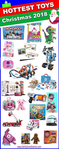 The Hottest Holiday Toys this Christmas Season!  These toys are already flying off the shelves!  Be sure to get these newest, most popular toys before Black Friday! Most wanted holiday toys 2018. #toys  #toptoys #christmas #christmasshopping #holiday #hol