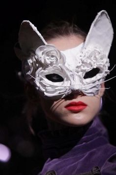 Feline masks at Undercover AW13