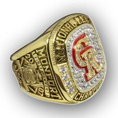 Rockchampions team is the most professional championship ring maker presents the top quality championship rings range from NFL Super bowl champions, MLB world series champions ring, NHL stanley cup champions ring to NCAA college champions ring and NBA basketball champions ring. Rockchampions also offer custom champions ring service, you can choose to add your own name and number to the champions ring or design and make a completely new ring for you!