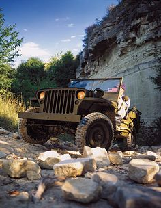 Pictures of Vintage Jeeps: 1942 Willys MB