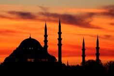 The Süleymaniye Mosque is an Ottoman imperial mosque located on the Third Hill of Istanbul, Turkey. It is the second largest mosque in the city, and one of the best-known sights of Istanbul.