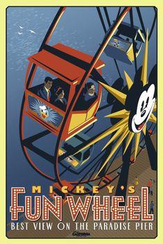 California Adventure @ Disneyland...Mickey's Fun Wheel