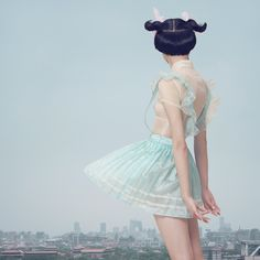 Chen Man: Belleza oriental   Fotografía Digital