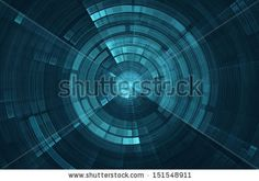 Abstract Science Fiction Futuristic Background Stock Photo ...