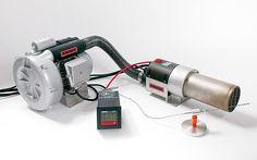 Industrielle Prozesse mit Heissluft-Technologie - Leister Process Heat