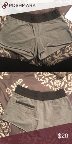 Lululemon soft cotton shorts Comfortable shorts to lounge around in! Stretchy waistband and cotton cutoff style. lululemon athletica Shorts
