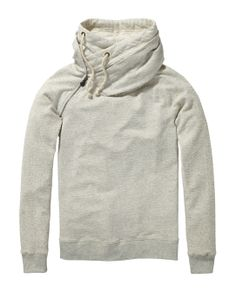 Home Alone Hoodie | sweat | Woman Clothing at Scotch & Soda