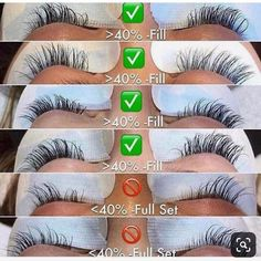 ANYTHING LESS THAN is a full set! Ive been very generous but make sure you have at least anthropomorphic-ent Perfect Eyelashes, Lash Lounge, Lash Quotes, Eyelash Extensions Styles, Eyelash Tips, Nail Salon Decor, Lashes Logo, Lash Room, For Lash