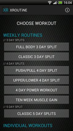 Get ripped in 30 days! XROUTiNE elite fitness training programs with detailed day-by-day guide with get you in shape in just 30 days!<p>---FEATURES---<p>✔ Comprehensive 7 day plan for each routine with day-by-day guide for each workout.<br>✔ Trainer devel