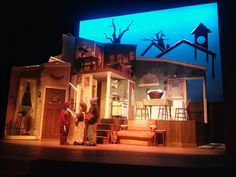 A Christmas Story. Neptune Theatre. Scenic design by Joanna Yu ...