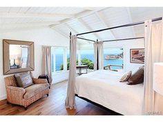 One of Lauren Conrad's bedrooms in her Laguna Beach home