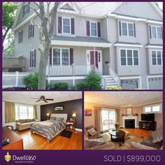 Deirdre OConnor helped her clients find this seven year old townhouse in Needham, Massachusetts. A bright kitchen with granite countertops and stainless steel appliances only complimented other features such as gas fireplace, hardwood floors, jacuzzi tub in master bath, and fenced in yard with sprinkler system. We wish the new owners many years of happiness in their new home!